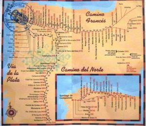 camino maps